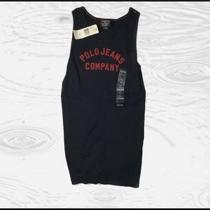 Polo jeans company blurred tank top